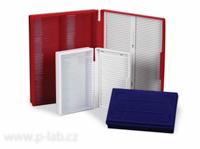 Kazety pro mikroskopická skla
