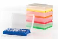 Stojánek se závěsným víčkem pro 0,2ml PCR mikrozkumavky