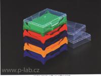 Stojánek s víčkem pro 0,2 ml PCR mikrozkumavky (8 x 12)