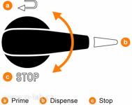Recirkulační třícestný ventil