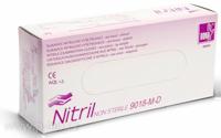 Rukavice vyšetřovací nitrilové modré prodloužené DONA® | VULKAN-MEDICAL