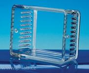 držák mikroskel skleněný