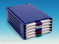Pořadač na kartonové desky pro preparáty