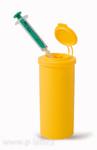 MINI nádobka na použité jehly a stříkačky