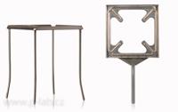 Čtyřnožky a držáky do stojanu pro varné desky