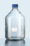 3500ml čirá laboratorní láhev se šroubovacím uzávěrem