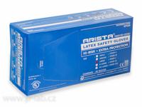 Rukavice vyšetřovací latexové modré SAFETY