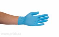 Rukavice vyšetřovací nitrilové modré