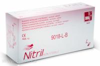 Rukavice vyšetřovací nitrilové bílé DONA® | VULKAN-MEDICAL