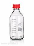 Láhev s červeným šroubovacím uzávěrem | SIMAX®