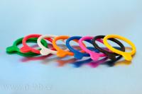 Barevné silikonové o-kroužky