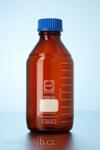 1000ml hnědá laboratorní láhev se šroubovacím uzávěrem