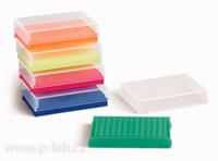 Stojánek s víčkem pro 0,2ml PCR mikrozkumavky (8 × 12)