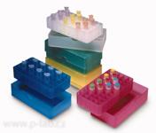 Krabička barevná pro 50 mikrozkumavek (5 × 10)