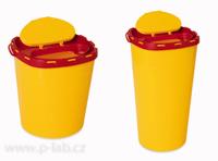 Nádobky na použité jehly a stříkačky