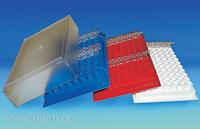 Stojánek s víčkem pro 0,2ml PCR mikrozkumavky