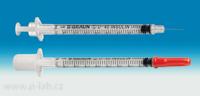 Insulinové stříkačky s inetegrovanou jehlou