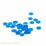 Inserty do víček modrá