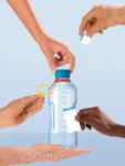 Ukázka příslušenství k lahvi