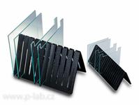 Stojánky pro skleněné desky