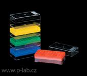 Krabička se stojánkem na mikrozkumavky do mrazicích boxů